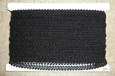 "Black Gimp Braid Lace Trim 1/2"" x 50 Yards Sewing, Craft, Scrap booking, DIY"