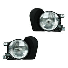 Fits 02-03 Mitsubishi Galant Driver + Passenger Fog Light Lamp Assembly 1 Pair