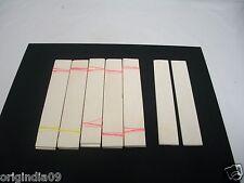 "6 pair, camel bone Flat 6x1x1/8"" (150x25x3mm)  knife handle blank"