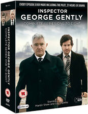 Inspector George Gently (Complete Series 1-8) NEW PAL 17-DVD Box Set Martin Shaw