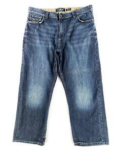 Ecko Unlimited Baggy Fit Sz 42 Blue Jeans Classic Denim