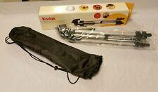 "Kodak Digital Camera Tripod 53"" Lightweight Standard Mount w Carry Case New"
