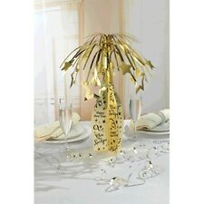 """19"""" Happy New Year Gold Champagne Bottle Party Table Centerpiece Decoration"""