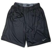 Nike drifit Mens Basketball Shorts black large no drawstring