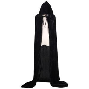 Halloween Wonder Cosplay Grim Reaper Witch Costume Party Unisex Long Cloak