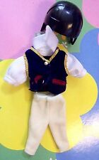 Kelly Chelsea Tommy Doll Clothes *Tommy's Riding Outfit & Helmet* 3 Pcs