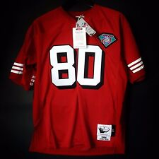 100% Authentic Jerry Rice Mitchell & Ness 94 49ers NFL Jersey Size 48 XL Mens