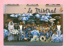 "DUNKERQUE - CARNAVAL - GROUPE CARNAVALESQUE "" LES ACHARNES "" CAFE "" LE MISTRAL """