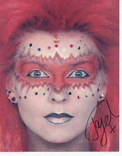 TOYAH WILLCOX In Person Signed 10X8 Photo IT'S A MYSTERY & QUADROPHENIA COA