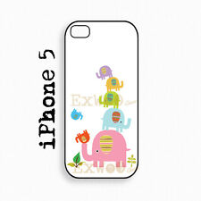 Elephant Family - iPhone 5/5s Case, iphone cover,  Hard iPhone 5/5s Case