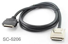 6ft SCSI-5 (VHDCI) 0.8mm to SCSI-2 (HPDB50) Male/Male, CablesOnline SC-5206
