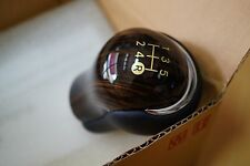 GENUINE TOYOTA HILUX REVO WOOD GEAR SHIFT KNOB FOR MANUAL 5 SPEEDS