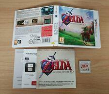 THE LEGEND OF ZELDA OCARINA OF TIME NINTENDO 3DS PAL ESPAÑA 2DS N3DS
