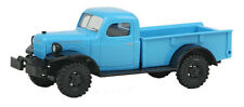 HO 1/87 Busch # 44024 Dodge Power Wagon Pickup 1945-1968 w/winch - Blue