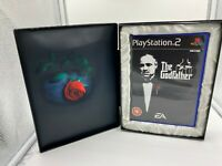The Godfather Coffin Limited Edition PS2 Sony Playstation 2 RARE NO Steelbook