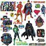 JUSTICE LEAGUE 28 Wall Decals Superman Batman Room Decor Stickers DC COMICS NEW