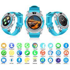 Smart Watch Bluetooth Phone Call Unlocked Gsm Sim Camera for Samsung Lg Zte asus