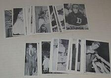 cr 1962 John F Kennedy Trading Card Lot of 33 Cards by Rosan Printing NY
