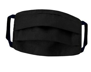 Black Face Mask Unisex Great Quality Washable Reusable Masks Fast Shipping