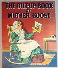 Bilt-up Book of Mother Goose 1943 Rhyme Scenes - Play Set