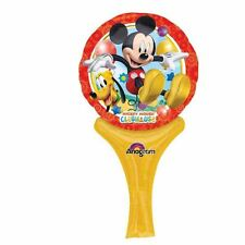 Mickey Mouse Inflate a Fun Foil Hand Balloon Air Fill Birthday Party Bag Filler