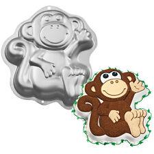 Wilton Baking Monkey Jungle Animal Cake Pan Tin Birthday Celebration NEW