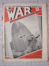 The War Illustrated #10 (Strasbourg, Junkers, U-Boat, RAF, Stuka, Rank Insignia)