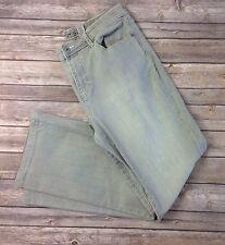 Chico's Platinum Jeans 1.5 Cotton Spandex Blend Gray K01