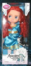 "Disney Animators' Collection 16"" Toddler Doll Princess Merida Series 3 New!"