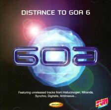 VA - Distance To Goa 6 MIRANDA SPACE TRIBE HALLUCINOGEN CD NEU
