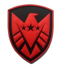 THE AVENGERS movie S.H.I.E.L.D logo Patches PVC Rubber ARMY  PATCH