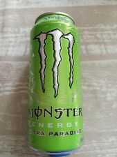 1 Volle Energy drink Dose Monster Ultra Paradise Green Can Coca Cola FULL USA