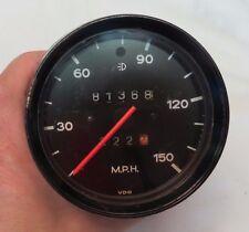 1974-75 Porsche 911 150MPH Speedometer Part# 911 641 502 29 Dated 4/75