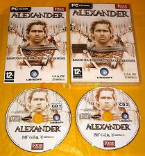 ALEXANDER PC Versione Italiana Editoriale ○○○○ USATO - C1