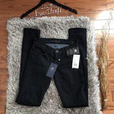 NWT Rock & Republic Black Skinny Jeans Size 25 Denim MSRP $210