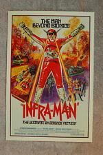 Infra Man Lobby Card Movie Poster __