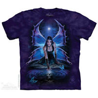 Immortal Flight T-Shirt by The Mountain. Dark Fantasy Angel Fairy Sizes S-5X NEW