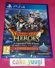 DRAGON QUEST HEROES LE CREPUSCULE DE L'ARBRE DU MONDE NEUF SONY PS4 VERSION