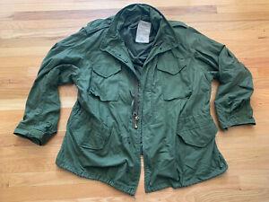 vintage M-65 US Military Field Jacket Size XXXL Viet Nam