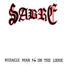 "SABRE - MIRACLE MAN C/W ON THE LOOSE CD, LTD 500 7"" REPLICA NWOBHM SKOL 2018 NEW"