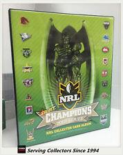 OFFICIAL NRL TRADING CARD ALBUM--2007 SELECT NRL CHAMPIONS ALBUM