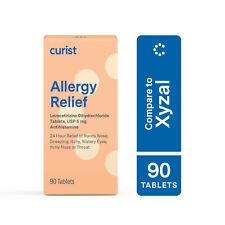 Generic Xyzal Levocetirizine 5 mg - 90 tablet - 24 HR Allergy Medicine