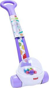 Fisher-Price Classic Corn Popper Walk & Push, Purple Toy, KIDS GIFT NEW