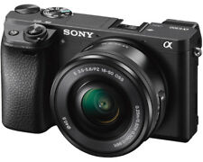 Sony Alpha A 6300 schwarz AF E 16-50mm 3.5-5.6 OSS PZ ILCE-6300LB NEU OVP