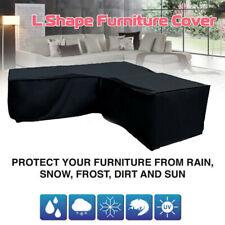 Waterproof Garden Rattan Corner Furniture Cover Outdoor Sofa Protect L Shape