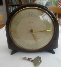Vintage Bakelite Antique Mantel & Carriage Clocks