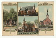Dresden, Ont.,Canada,Postcard Posted, Made in Germany T. J. 4908, Good Condition