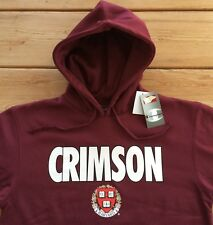 NEW Official NCAA Champion Harvard Crimson Hooded Sweatshirt Men's M