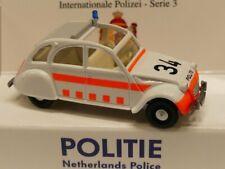 1/87 Wiking Citroen 2 CV Politie NL 0809 52 Sondermodell Reinhardt
