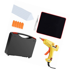 Hot Glue Gun Kit with Sticks 20 Pcs Mini, Mouse Pad, Portable case for DIY Small